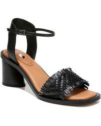Sarto Razia Block Heel Sandal - Black