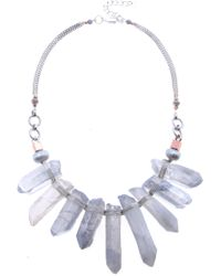 Nakamol - Quartz Statement Necklace - Lyst
