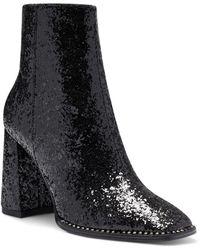 Jessica Simpson Silvya Glitter Bootie - Black