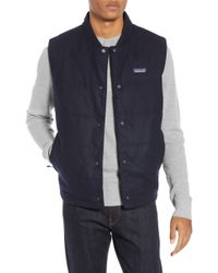 Patagonia - Recycled Woolyester Vest - Lyst