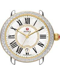 Michele Serein 16 Diamond Watch Case - Black