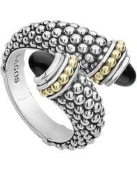 Lagos - Signature Caviar Crossover Ring (nordstrom Exclusive) - Lyst