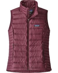 Patagonia - Down-Filled Quilted Vest - Lyst