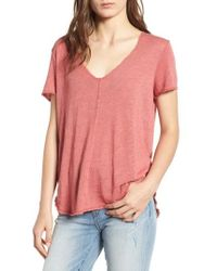 Project Social T - V-neck Tee - Lyst