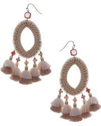 Nakamol - Tassel Drop Earrings - Lyst