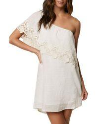O'neill Sportswear - Eryn One-shoulder Dress - Lyst
