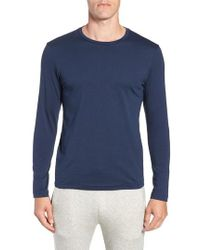 Mack Weldon - Long Sleeve Pima Cotton Crewneck T-shirt - Lyst