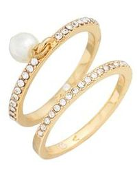 Vince Camuto - Charm Ring Set - Lyst