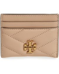 Tory Burch - Kira Chevron Leather Card Case - Lyst