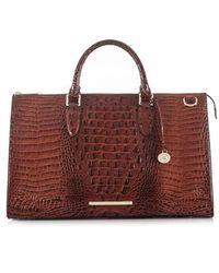 Brahmin - Anywhere Weekend Leather Bag - Lyst