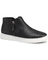 Trask - Lora Woven Sneaker Bootie - Lyst