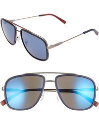 Ferragamo - 57mm Navigator Sunglasses - Lyst