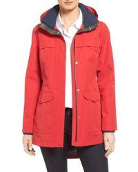 Pendleton   Hooded Raincoat   Lyst