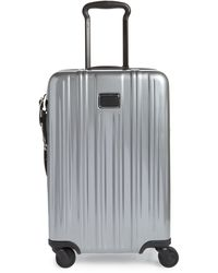 Tumi V3 International 22-inch Expandable Spinner Carry-on - Metallic
