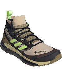 adidas Men's Terrex Free Hiker Gore-tex Waterproof Hiking Boot - Multicolor