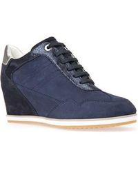 Geox - Illusion 34 Wedge Sneaker - Lyst