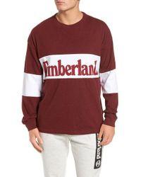 Timberland - Logo Graphic T-shirt - Lyst