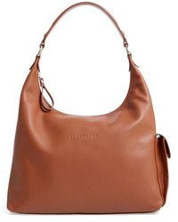 Longchamp - Le Foulonne Leather Hobo - Lyst