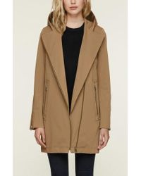 SOIA & KYO - Straight Fit Trench Coat - Lyst