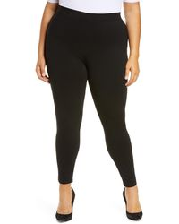 Halogen Ponte Leggings - Black