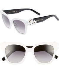 d1142933e8ff Marc Jacobs - 52mm Daisy Cat Eye Sunglasses - - Lyst