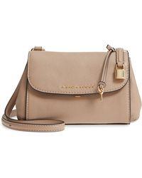 Marc Jacobs - Mini The Boho Grind Leather Shoulder Bag - Lyst