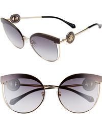 Roberto Cavalli - Butterfly Cutout Metal Sunglasses - Lyst