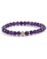 Lagos - 'caviar Icon' Semiprecious Stone Bracelet - Lyst