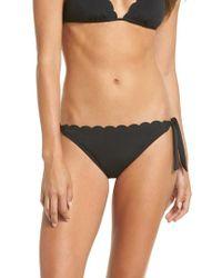 La Blanca - Petal Pusher Ruffle Bikini Bottoms - Lyst