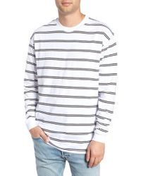 Zanerobe - Channel Box Long Sleeve T-shirt - Lyst