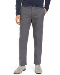 Bonobos - Slim Fit Flannel Lined Chinos - Lyst