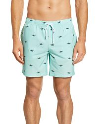 Bonobos Banzai 7-inch E-waist Swim Trunks - Blue