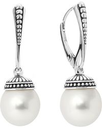 Lagos - 'luna' Pearl Drop Earrings - Lyst