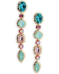 Sorrelli Ursula Linear Earrings - Multicolour