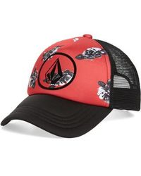Volcom - Tagurit Trucker Hat - Lyst