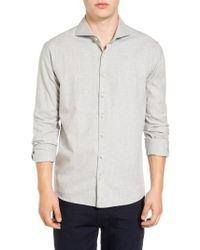 Singer + Sargent - Regular Fit Glen Plaid Sport Shirt - Lyst
