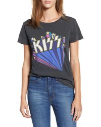 Lucky Brand - Kiss Logo Graphic Tee - Lyst