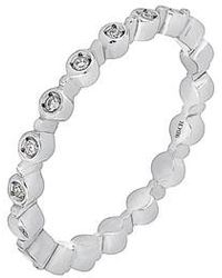 CARRIERE JEWELRY - Carriere Bezel Diamond Stackable Ring (nordstrom Exclusive) - Lyst