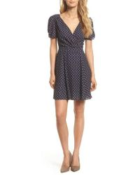 Adelyn Rae | Vera Fit & Flare Dress | Lyst