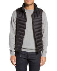 Tumi - Packable Down Vest, Black - Lyst