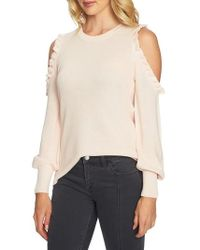 1.STATE   Cold Shoulder Sweater   Lyst