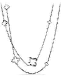 David Yurman - 'quatrefoil' Chain Necklace - Lyst