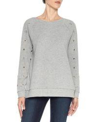 Joe's | Izzy Grommet Sweatshirt | Lyst