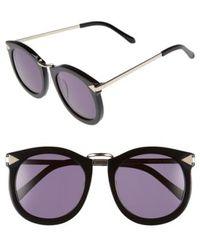 Karen Walker - 'super Lunar - Arrowed By Karen' 52mm Sunglasses - - Lyst