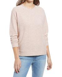 Lou & Grey Otis Cotton Blend Sweatshirt - Multicolor