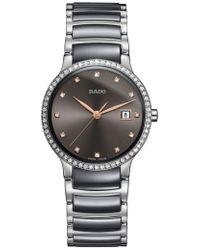 Rado - Centrix Diamond Bracelet Watch - Lyst