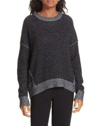 Brochu Walker - Brighter Overlay Cashmere Pullover - Lyst