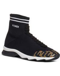 Fendi Sock Sneakers - Black