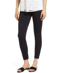Wolford - Grace Laced Detail Leggings - Lyst