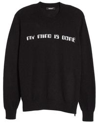 Undercover - My Mind Is Gone Wool & Cashmere Sweater - Lyst